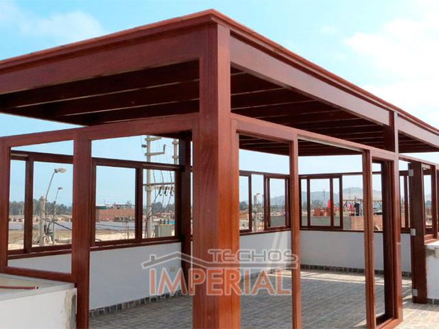Top techos de terrazas de madera wallpapers - Techo de madera ...