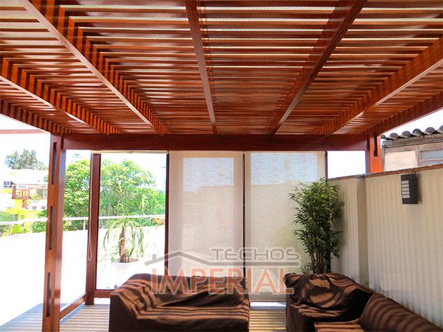 techos de madera para estacionamientos - Techos De Madera